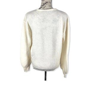 NA-KD Beige Wrap Acrylic pullover Sweater